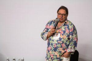 El locutor cileno Fernando Solís en Barranquilla